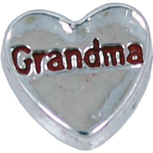 Picture of 'Grandma' Heart Charm